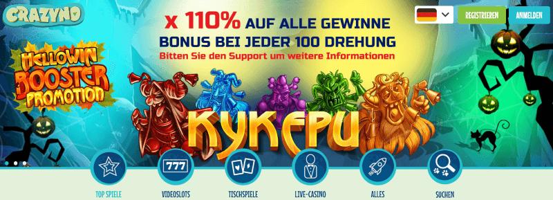 crazyno casino ohne lizenz